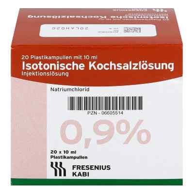 Kochsalzloesung 0,9% Pl. Fresenius Amp.  zamów na apo-discounter.pl