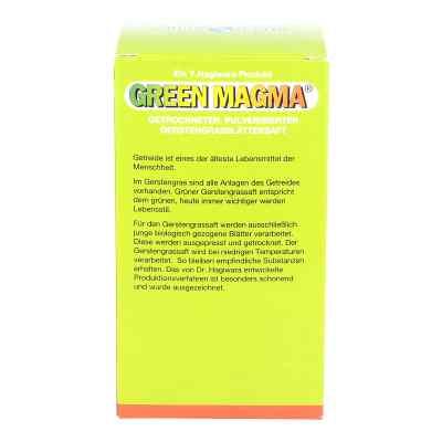 Green Magma wyciąg z zielonego  jęczmienia  zamów na apo-discounter.pl