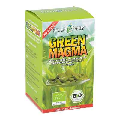 Green Magma Gerstengrasextrakt Tabl.  zamów na apo-discounter.pl
