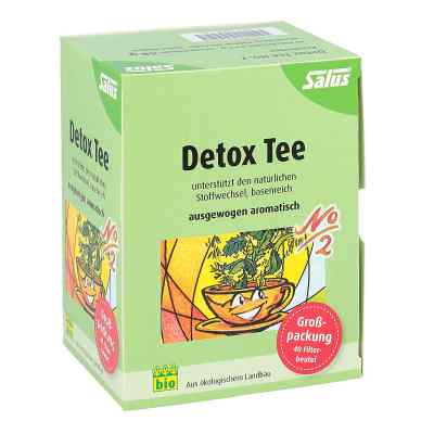 Detox Tee Nummer 2  Kraeutertee Salus  zamów na apo-discounter.pl