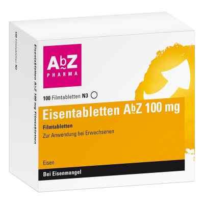 Eisentabletten Abz 100 mg Filmtabl.