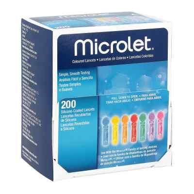Microlet lancety kolorowe  zamów na apo-discounter.pl