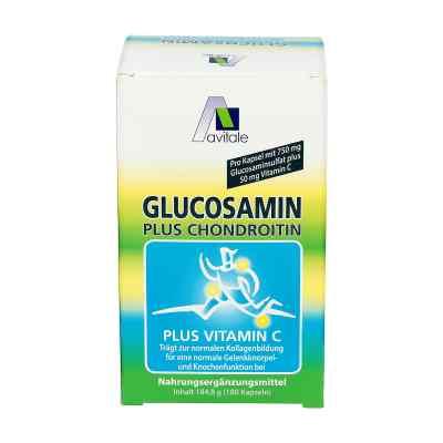 Glukoazmina 750 mg + Chondroityna 100 mg kapsułki  zamów na apo-discounter.pl
