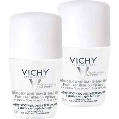 Vichy Deo Anti-Transpirant 48h Skóra wrażliwa Roll-on  zamów na apo-discounter.pl
