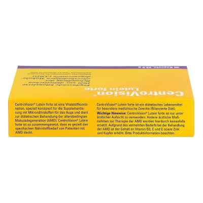 Centrovision Lutein forte Omega 3 kapsułki  zamów na apo-discounter.pl