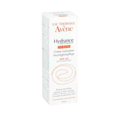 Avene Hydrance Optimale UV Riche - skóra sucha i b. sucha