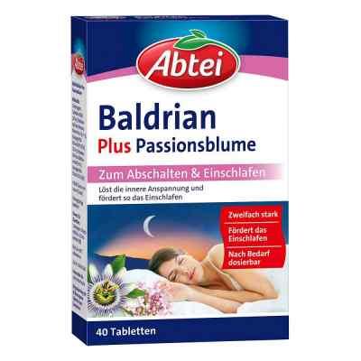 Abtei Baldrian plus tabletki z passiflorą  zamów na apo-discounter.pl