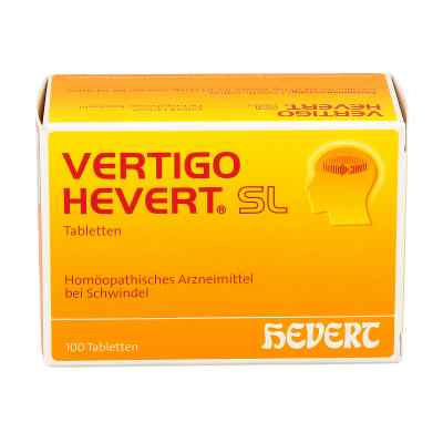 Vertigo Hevert Sl Tabletten  zamów na apo-discounter.pl