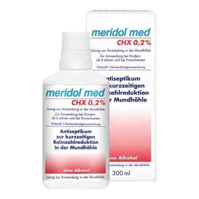 Meridol med Chx 0,2% płyn do płukania jamy ustnej
