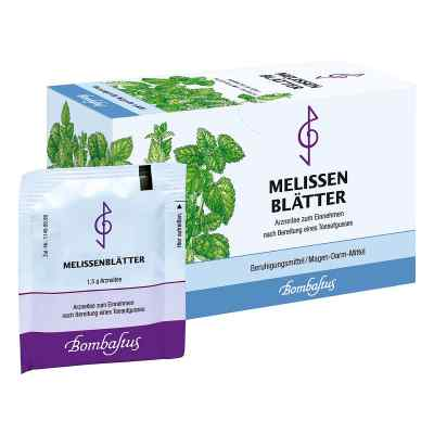 Melissen Blaettertee Filterbeutel  zamów na apo-discounter.pl