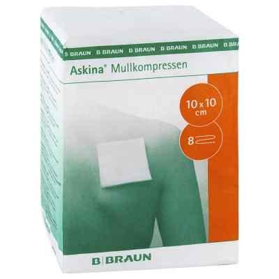 Askina 10x10 cm kompres z gazy niejałowy  zamów na apo-discounter.pl
