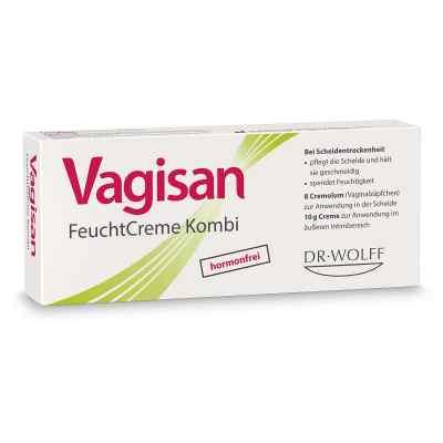 Vagisan zestaw nawilżający 10g krem + 8x czopki  zamów na apo-discounter.pl