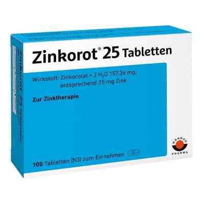 Zinkorot 25 Tabl.  zamów na apo-discounter.pl