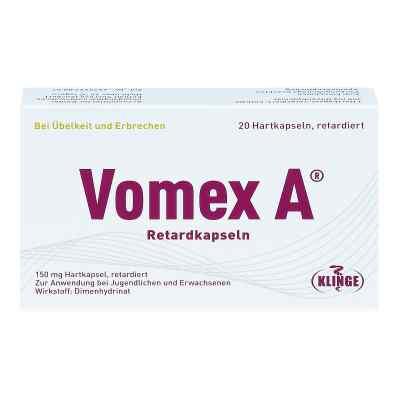 Vomex A Retardkapseln N  zamów na apo-discounter.pl