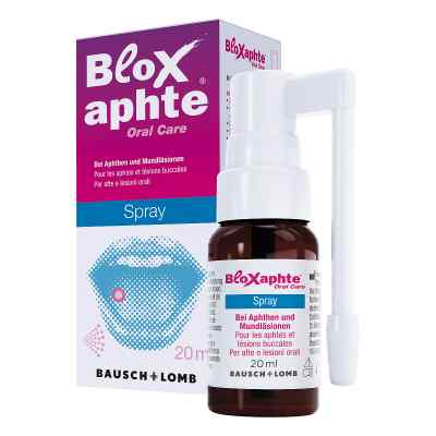 Bloxaphte spray na afty dla dorosłych  zamów na apo-discounter.pl