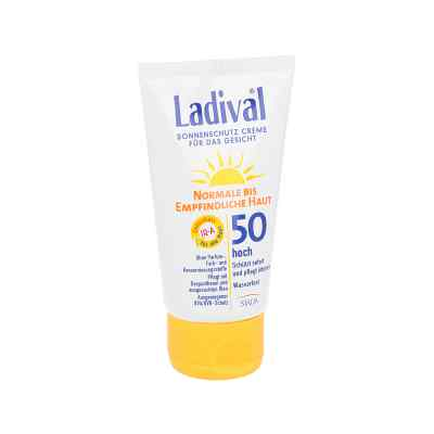 Ladival krem do twarzy dla skóry normalnej i wrażliwejSPF50  zamów na apo-discounter.pl