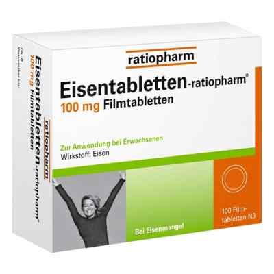 Eisentabletten ratiopharm 100 mg Filmtabl.  zamów na apo-discounter.pl
