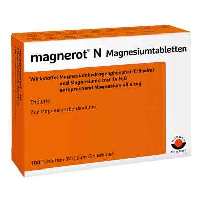 Magnerot N Magnesiumtabl.  zamów na apo-discounter.pl