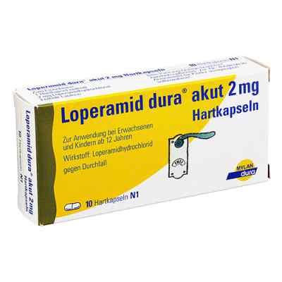 Loperamid dura akut 2 mg Hartkapseln  zamów na apo-discounter.pl