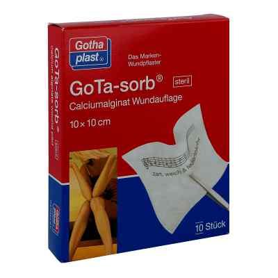 Gota Sorb steril 10x10cm  zamów na apo-discounter.pl