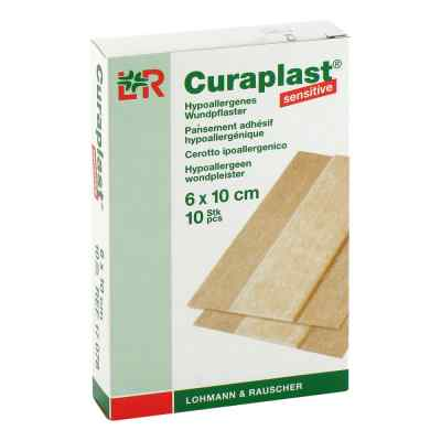 Curaplast sensitive Wundschn.verband 6x10cm  zamów na apo-discounter.pl