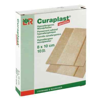 Curaplast sensitive Wundschn.verband 8x10cm  zamów na apo-discounter.pl