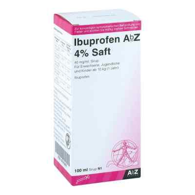 Ibuprofen Abz 4% Saft