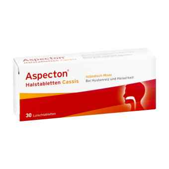 Aspecton Cassis tabletki do ssania na gardło  zamów na apo-discounter.pl