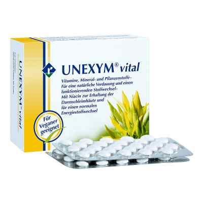 Unexym Vital tabletki  zamów na apo-discounter.pl