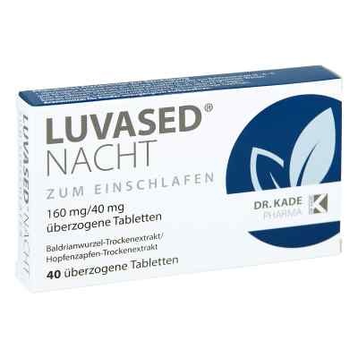 Luvased Nacht nassene tabletki powlekane na noc  zamów na apo-discounter.pl