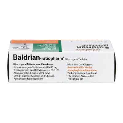 Baldrian Ratiopharm überzogene Tabletten  zamów na apo-discounter.pl