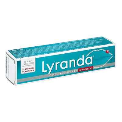 Lyranda pastylki do żucia  zamów na apo-discounter.pl