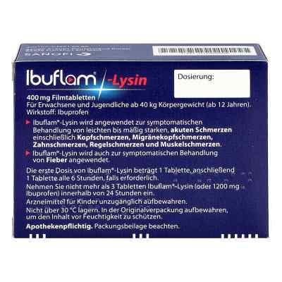 Ibuflam-lysin 400 mg Filmtabletten  zamów na apo-discounter.pl