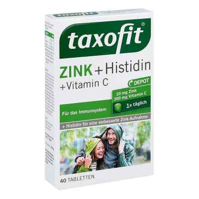 Taxofit cynk + histydyna tabletki  zamów na apo-discounter.pl
