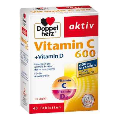Doppelherz Witamina C 600 + Witamina D tabletki