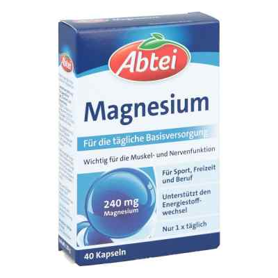 Abtei Magnesium kapsułki  zamów na apo-discounter.pl