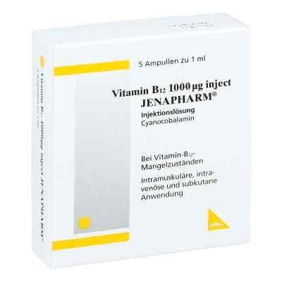 Vitamin B 12 1000 [my]g Inject Jenapharm Amp.  zamów na apo-discounter.pl