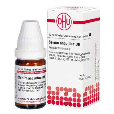 Serum Anguillae D 6 Dil.  zamów na apo-discounter.pl