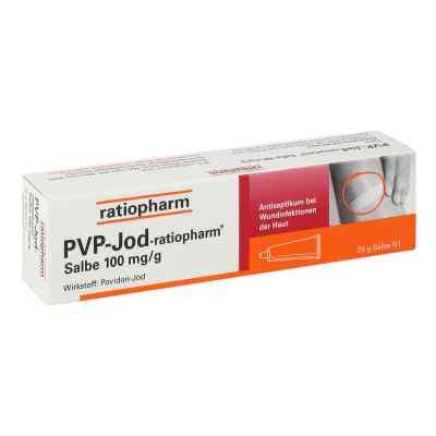 PVP Jod ratiopharm maść na rany 25 g od ratiopharm GmbH PZN 07260425