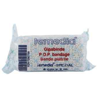 Gipsbinde Temedia spezial 2 m x 8 cm opaska gipsowa  zamów na apo-discounter.pl