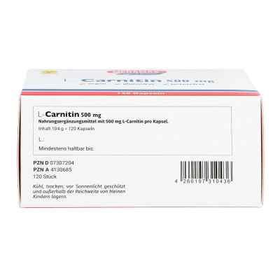 L-carnitin 500 mg Megamax kapsułki  zamów na apo-discounter.pl