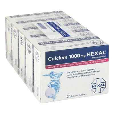 Calcium 1000 Hexal Tabletki musujące  zamów na apo-discounter.pl