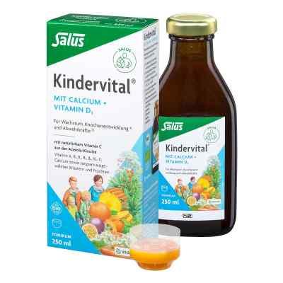 Kindervital Bio Salus® Tonik z wapniem i witaminą D3   zamów na apo-discounter.pl