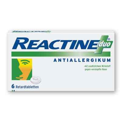 Reactine Duo Retardtabl.  zamów na apo-discounter.pl