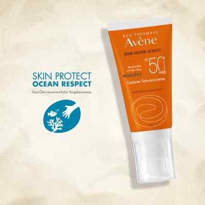 Avene Sunsitive tonujący krem p/słoneczny SPF 50+