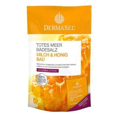 Dermasel sól do kąpieli z  Morza Martwego  mleko i miód  zamów na apo-discounter.pl