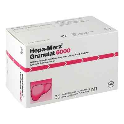 Hepa Merz Granulat 6000 Btl.  zamów na apo-discounter.pl
