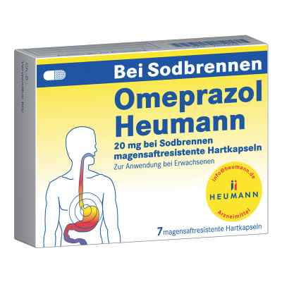 Omeprazol Heumann 20mg b.Sodbr. ms.r,Hartk.