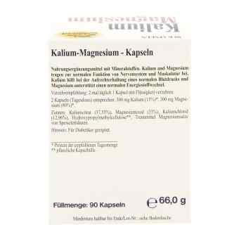 Kalium Magnesium kapsułki  zamów na apo-discounter.pl