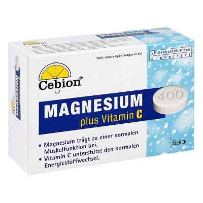 Cebion Plus Magnesium 400 tabletki musujące